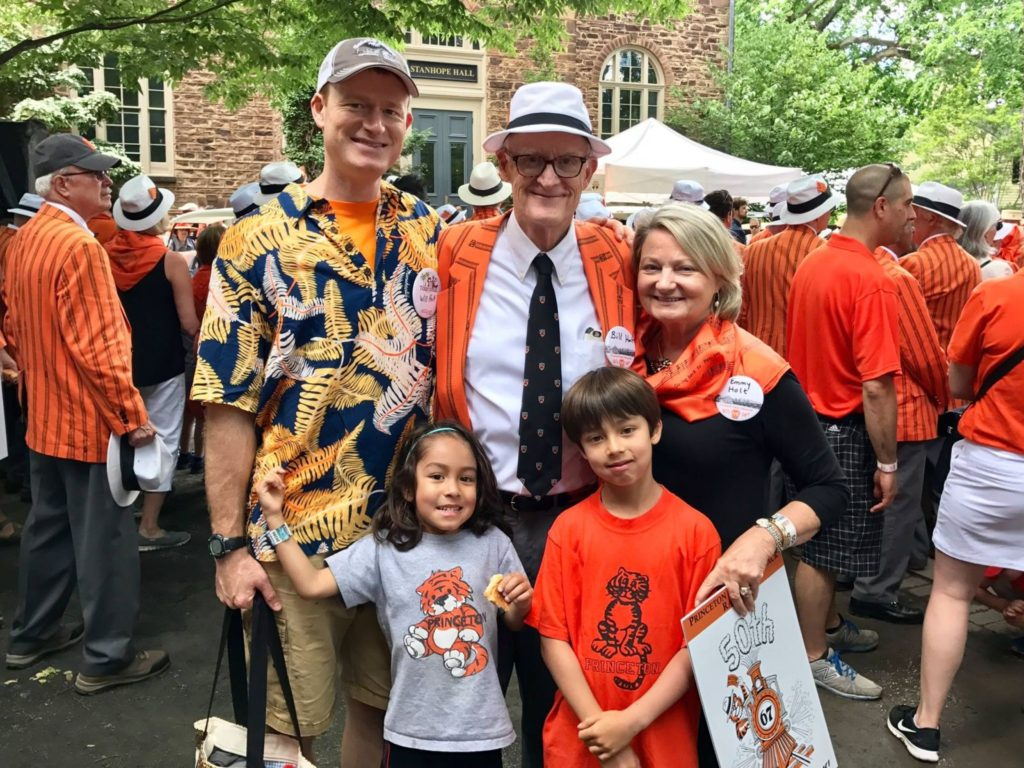 Holt family at 50th Reunion